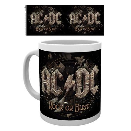 AC/DC Rock or Bust bögre ajándékba