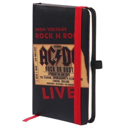 ACDC A5 jegyzetfüzet termékfotója