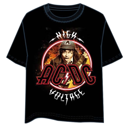 ACDC Angus Voltage felnőtt póló ajándékba