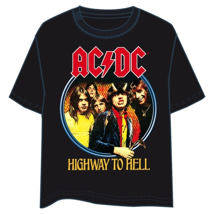 ACDC Highway to Hell felnőtt póló XL-es ajándékba