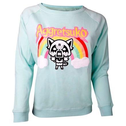 Aggretsuko Rage Aggretsuko női kötött pulóver [XL] ajándékba