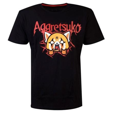 Aggretsuko Trash Metal póló [XL] ajándékba