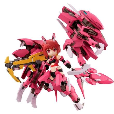 Alice Gear Aegis Desktop Army Rin Himukai figura 14cm ajándékba