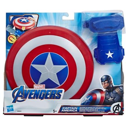 Amerika Kapitány Magnetic Shield and Gauntlet ajándékba