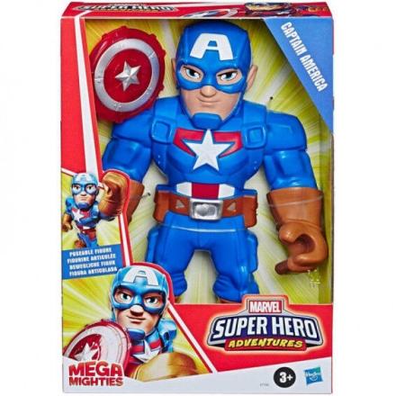 Amerika Kapitány Mega Mighties figura 25cm ajándékba