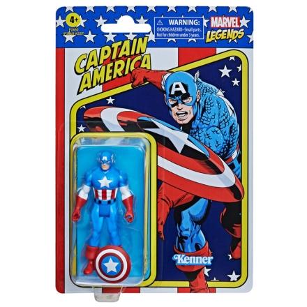 Amerika Kapitány retro figura 9,5cm ajándékba