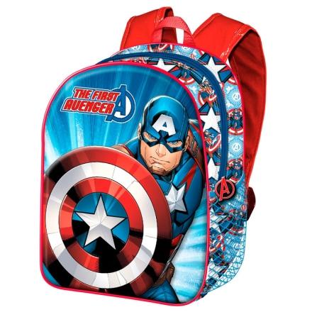 Amerika Kapitány táska hátizsák 40cm ajándékba