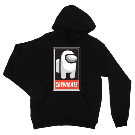 Among Us Crewmate logo férfi pulóver termékfotója