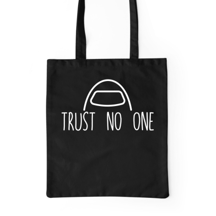 Among Us Trust no one bevásárlótáska ajándékba