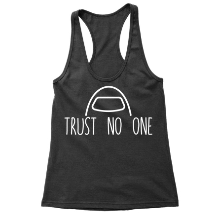 Among Us Trust no one női trikó ajándékba