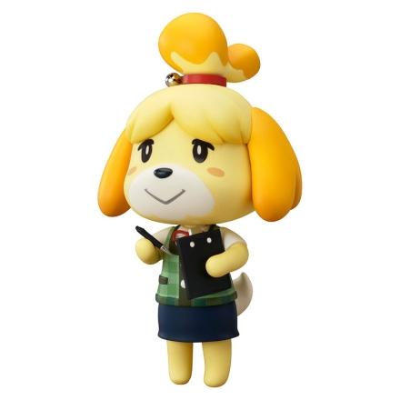 Animal Crossing New Leaf Shizue Isabelle Nendoroid figura 10cm ajándékba