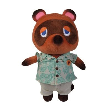 Animal Crossing plüss figura Tom Nook 25 cm ajándékba