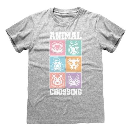 Animal Crossing póló Pastel Square [L] ajándékba