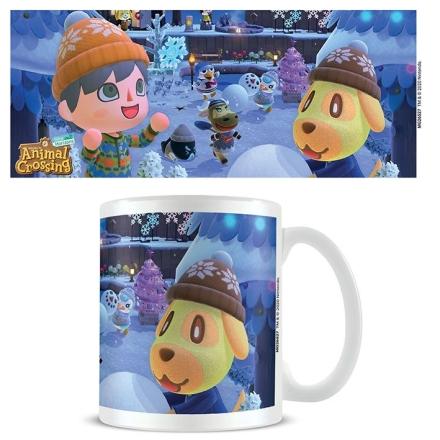 Animal Crossing Winter bögre ajándékba