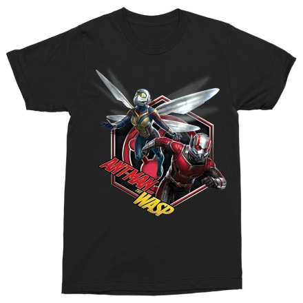Antman - Wasp badge férfi póló termékfotója