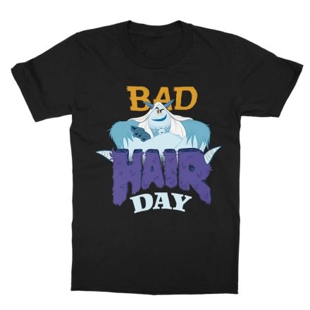 Apróláb Bad hair day gyerek póló ajándékba