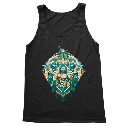 Aquaman Badge férfi trikó ajándékba