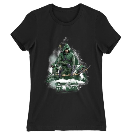 Arrow Destiny Leaves It's Mark női póló ajándékba