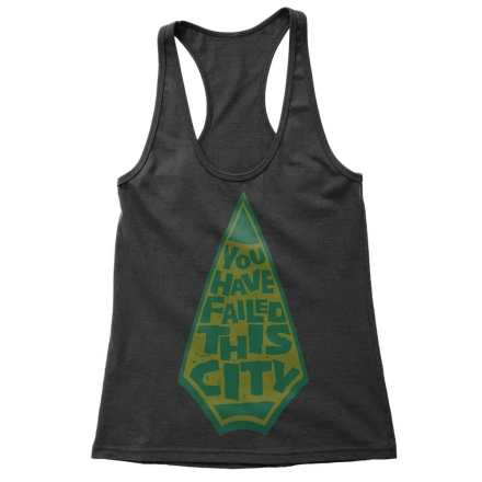 Arrow You have failed this city női trikó termékfotója
