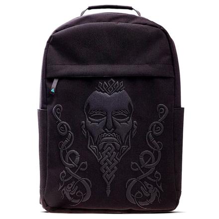 Assasin's Creed Valhalla fekete Screen Printed táska hátizsák termékfotója