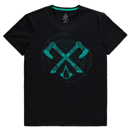 Assassin's Creed Valhalla Axes póló [L] ajándékba