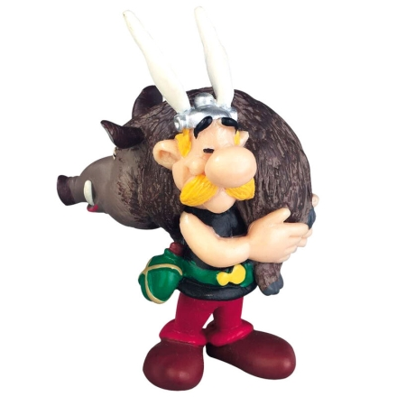 Asterix the Gallic Asterix with Boar figura 6cm termékfotója