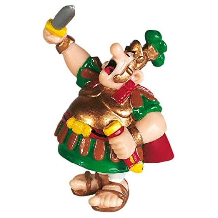 Asterix the Gallic Centurion with Sword figura 7cm termékfotója