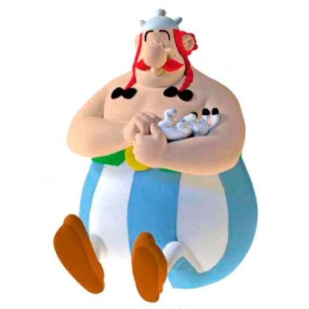 Asterix the Gallic Obelix persely figura 17cm termékfotója