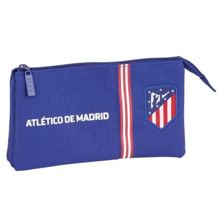 Atletico Madrid Kék tripla tolltartó termékfotója
