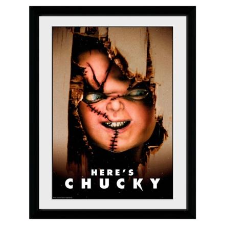 Chucky Itt van Chucky Bekeretezett Fotó termékfotója