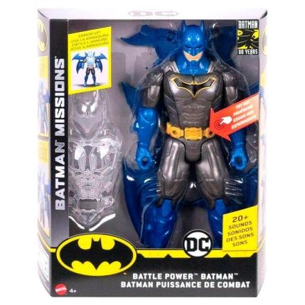DC Comics Batman Battle Power Night Missions figura 30cm termékfotója