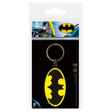 DC Comics Batman Symbol gumis kulcstartó termékfotója