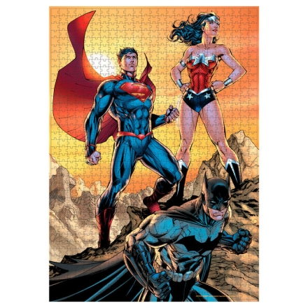 DC Comics Justice League puzzle 1000db-os termékfotója