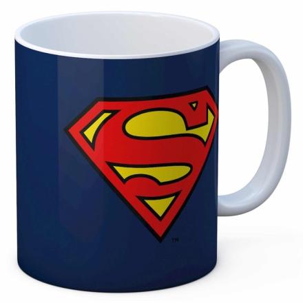 DC Comics Superman logó bögre termékfotója