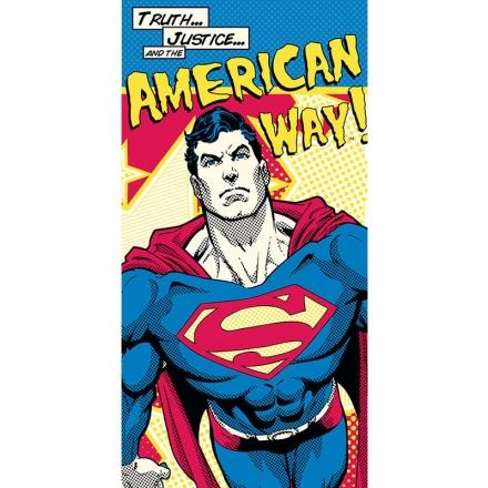 DC Superman American Way pamut törölköző termékfotója