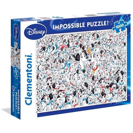 Disney 101 Dalmatians Impossible puzzle 1000db-os termékfotója