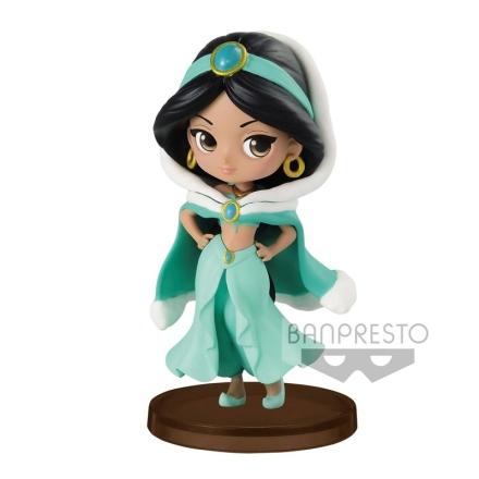 Disney Aladdin Jasmine Winter Q Posket figura 7cm termékfotója