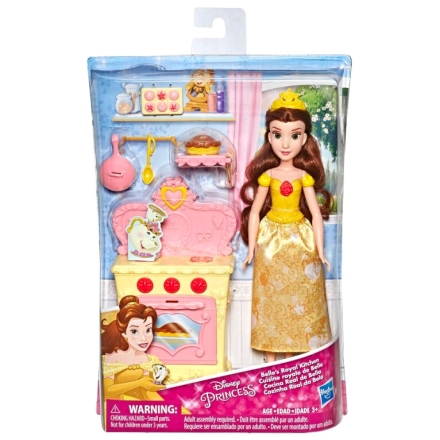 Disney Hercegnők The Szépség és a Szörnyeteg Belle s Royal Kitchen baba 28cm termékfotója