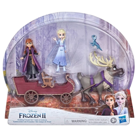 Disney Jégvarázs 2 sledding Friends figura csomag termékfotója