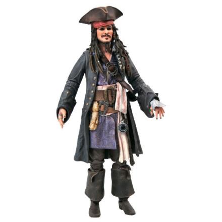 Disney Pirates of the Caribbean Jack Sparrow figura 18cm termékfotója