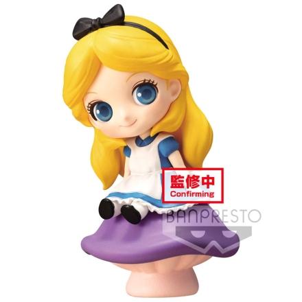 Disney Sweetiny petit Alice Q Posket figura 6cm termékfotója