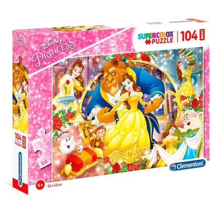 Disney Szépség és a Szörnyeteg Maxi puzzle 104db-os termékfotója