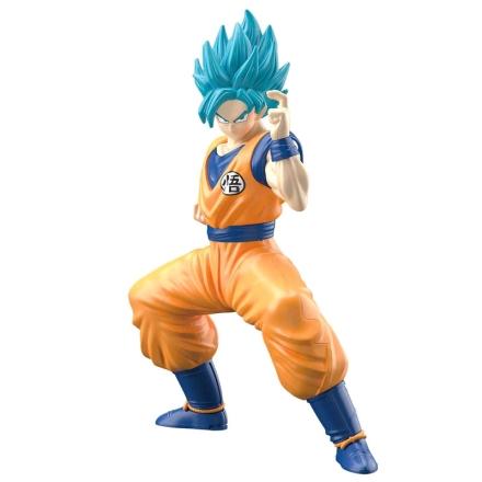 Dragon Ball Szuper Csillagharcos Son Goku modell készlet figura 15cm termékfotója