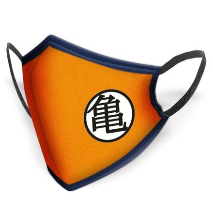 Dragon Ball Z Kame többször használható gyerek maszk termékfotója