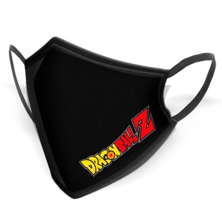 Dragon Ball Z Logós többször használható gyerek maszk termékfotója