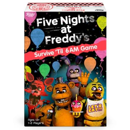 Five Nights at Freddy's Survive 'Til 6AM Game játék angol nyelvűtársasjáték termékfotója