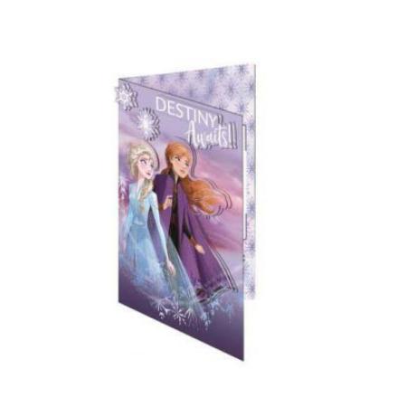 Frozen üdvözlőkártya és boríték 3D termékfotója