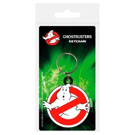 Ghostbusters Logo gumis kulcstartó termékfotója