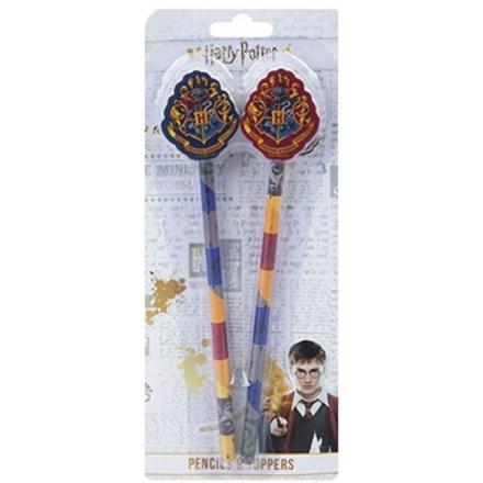 Harry Potter 2db ceruza radír végekkel termékfotója