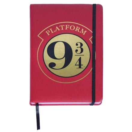 Harry Potter Platform 9 3/4 prémium A5 jegyzetfüzet termékfotója